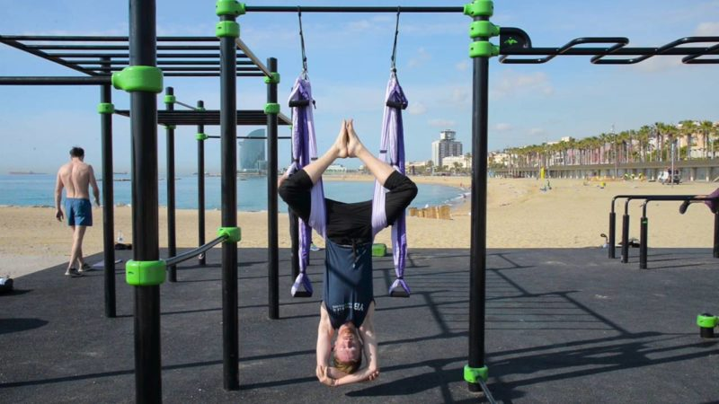 Yoga Inversion Swing