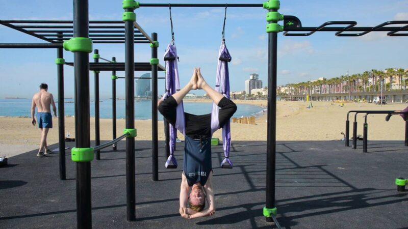 Yoga Inversion Swing – First Week Workout
